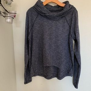 Lululemon gray heathered long sleeve sweater